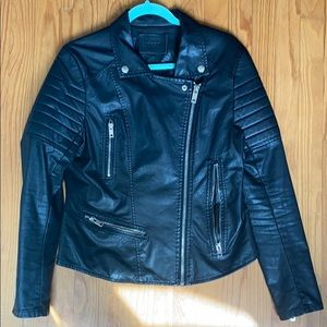 Blank NYC Leather Moro Jacket